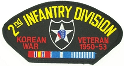 2nd Infantry Division Korean War Veteran Patches